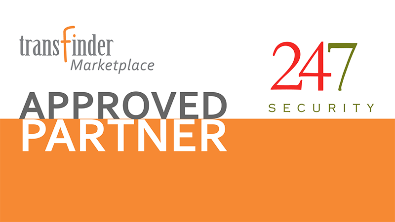 Transfinder Announces New Marketplace Partner 247Security
