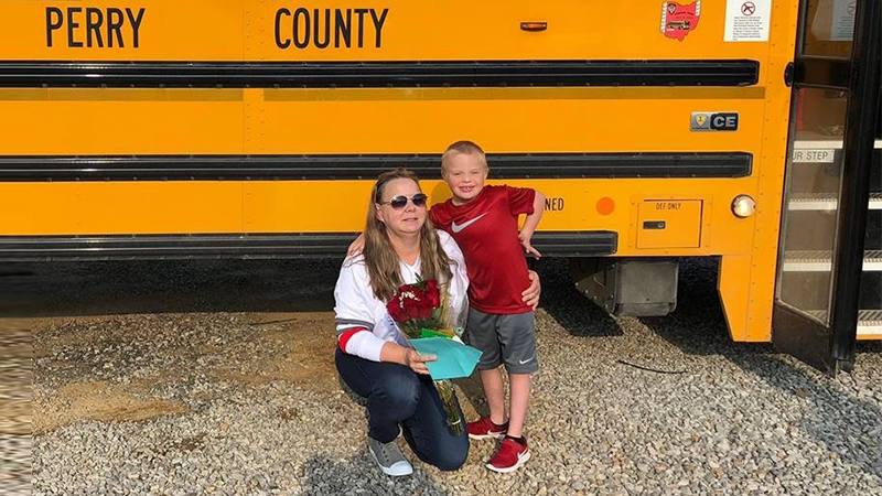 Clients in the News: Ohio School Bus Driver Saves Choking Student