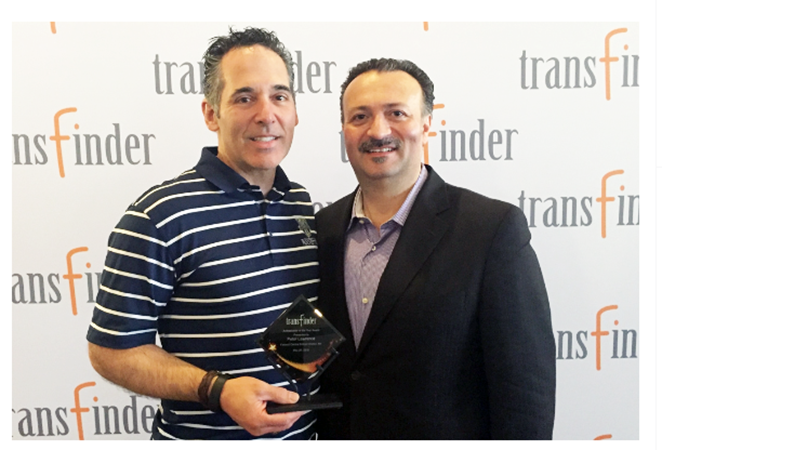 Transfinder Names Fairport Schools' Peter Lawrence its Ambassador of the Year