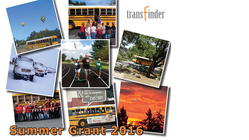 Transfinder Announces Summer Grant '16 Winners