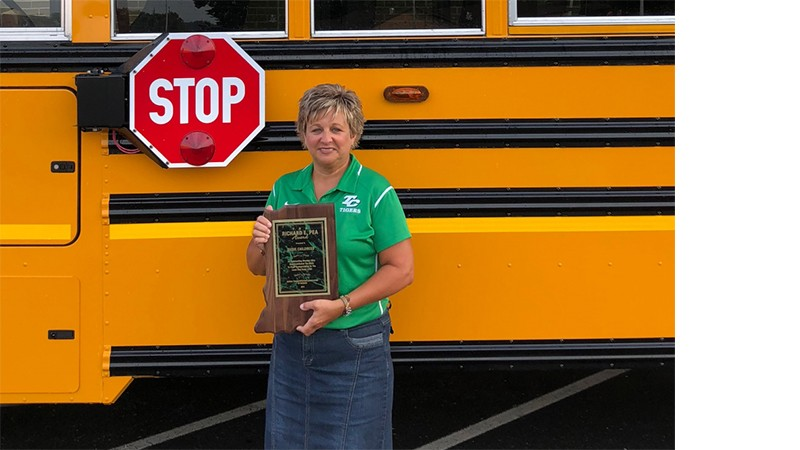 Clients in the News: Indiana Student Transporter Childress Honored for Excellence