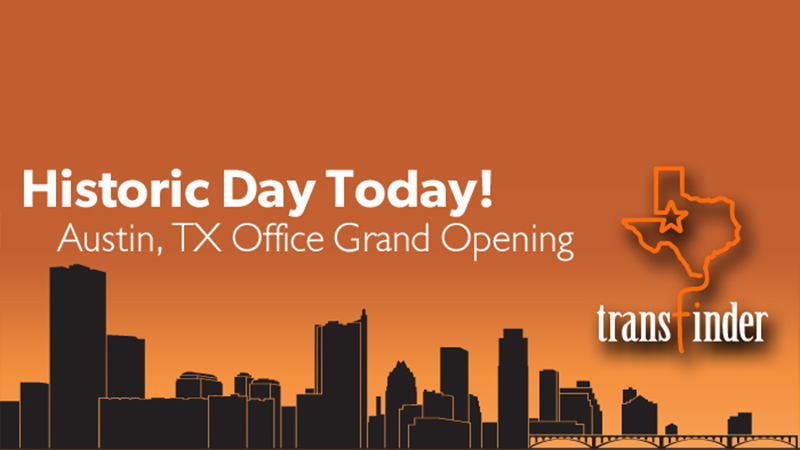 Transfinder Hosting Grand Opening Event for Austin Office
